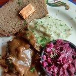 Sauerbraten lunch plate $12.00.