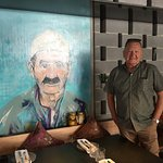 The portrait of Grandfather Yagiz and the reviewer.