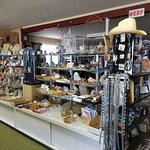 Gifts and rocks at Verla's a.k.a. Border Rock Shop