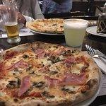 La mejor pizza que probé en Aguas Calientes!