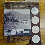 Display on Shipwreck of the Penguin, Te Kopahou Visitor Center