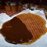 Chocolate stroopwafel