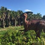 Dinosaurs In The Garden!