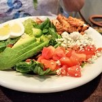 half size chicken cobb salad