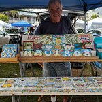 The artist of the magnets. He is also a retire illustrator for Brain Quest (children books)