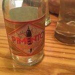 Gluten free spicy pimento ginger drink... sooo good!!