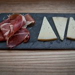 Iberian ham and Manchego Cheese