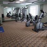 A nice workout center.