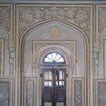 Ornate doorway inside the Fort