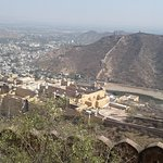 View including Amber Fort
