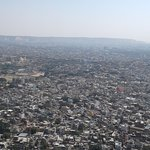 View of Jaipur from the Fort