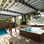 Wellness Živa, outdoor swimming pools