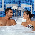 A romantic bath at Wellness Živa