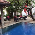 Malabar House pool or courtyard