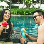 ภาพถ่ายของ Poolside Terrace Bar at Sheraton Lampung Hotel