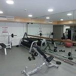 Gymnasium beyond the Spa