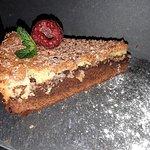 Cheesecake de Iogurte Grego com Chocolate