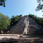 Climb The biggest pyramid of Q.Roo in Coba