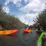 Descenso en kayak de 5km por el Túria