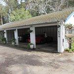 The garage/carport