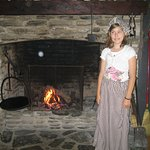 A youth volunteer shares her insight to living in the 1800s.