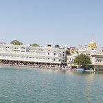 panoramic view of Golden temple