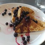 Gluten Free French Toast with Added Berries