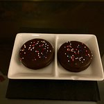 Welcome treat - chocolate oreos