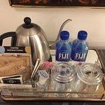 Amenities - Nice water amazing coffee