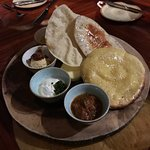 African Bread and Dips