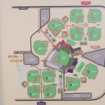 There are MANY BALL FIELDS here at Salt River Fields baseball complex.