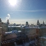 View of the cathedrals and Kitay Gorod area from the room.