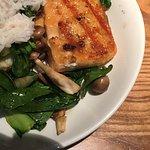 The salmon dish