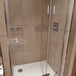 Shower and tub.