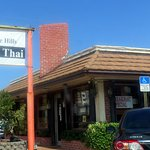front of & sign for Eddie Hill's Restaurant