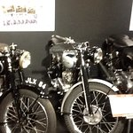 Just some of the cars and bikes at Haynes motor museum