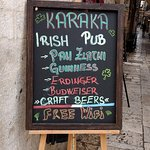 Fun to find Irish Pubs in every country.