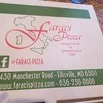 Bilde fra Faraci Pizza