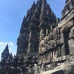 Bilde fra Prambanan-templene