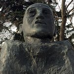 Adolf Scharf bust
