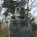 Adolf Scharf bust in Vienna
