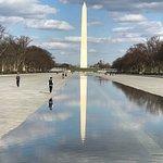 Washington Monument nearby