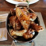 Sweet ginger soy chicken wings