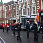 One of the Apprentice Boys groups in the parade