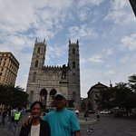 One of the Main Squares in Montreal