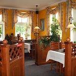 Ein sehr schönes und gemütliches Restaurant.