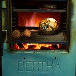 The unique taste of BERTHA!