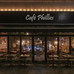 Cafe Phillies, welcomes you in the evenings for a glass of wine and a bite, every Wedn. to Satur