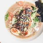 Ramen Noodle Soup with belly Pork