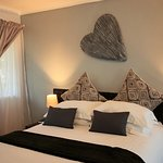 Double bed room - upstairs with balcony - shower only in en-suite